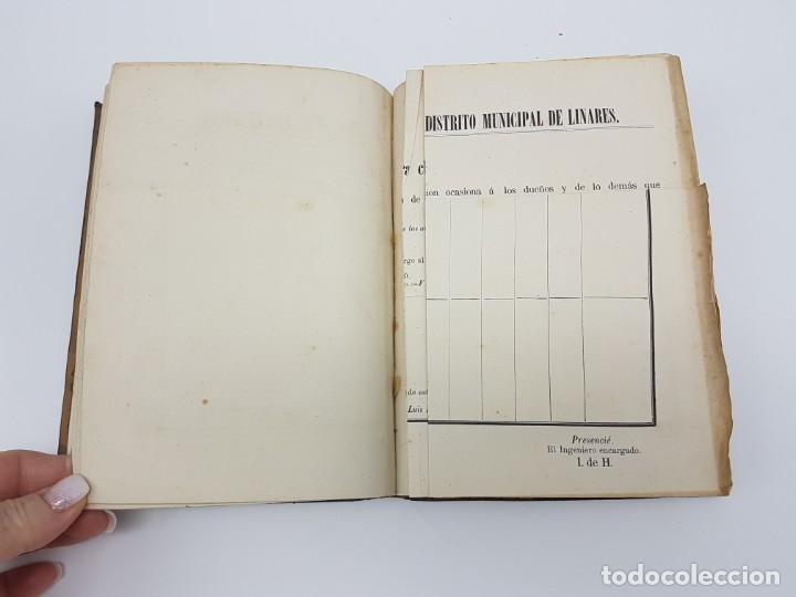 Libros antiguos: MANUAL DE ESPROPIACIÓN FORZOSA PÚBLICA, MADRID 1861 ( DESPLEGABLE ) - Foto 9 - 191058745