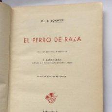 Libros antiguos: EL PERRO DE RAZA -DR. R. BOMMIER:- 1944. Lote 191060592