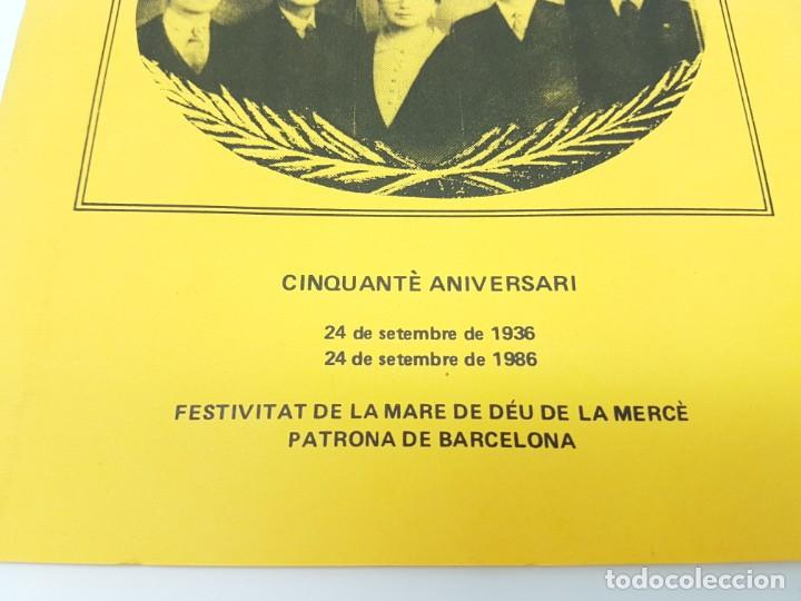 Libros antiguos: CINQUANTÈ ANIVERSARI INMOLACIO FAMILIA ARMENGOL- SERRA ( 1936-1986 ) - Foto 2 - 191061566