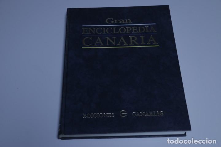 GRAN ENCICLOPEDIA CANARIA - EBA-FYF - TOMO VI (Libros Antiguos, Raros y Curiosos - Historia - Otros)