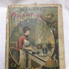 Libros antiguos: MANUAL DE LA COCINERA - 1901 - SATURNINO CALLEJA - CON GRABADOS - BUEN ESTADO - 190P. 15X11CM. Lote 191156180