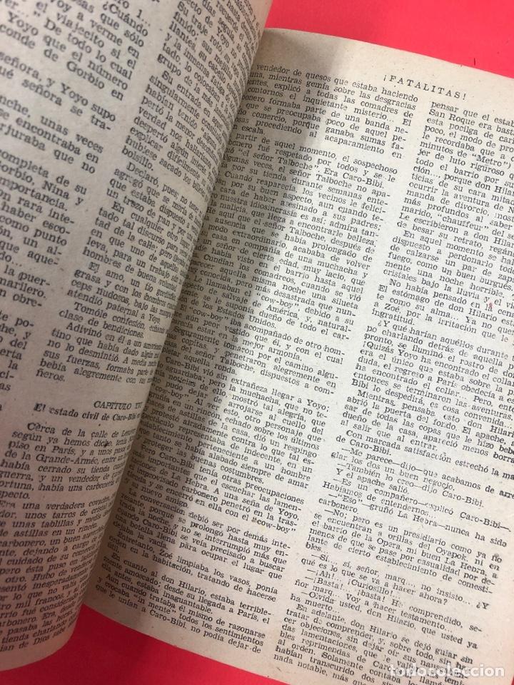 Libros antiguos: FATALITAS - G. LEROUX - 2ª PARTE DE CARO-BIBI - AGUILAR - COLECCION DETECTIVE - Foto 2 - 191202082