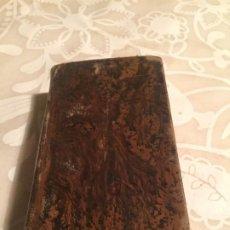 Libros antiguos: ANTIGUO LIBRO ATAR GULL EL ESCLAVO POR EUGENIO SUE TOMO I BARCELONA MEDIADOS SIGLO XIX. Lote 191224756