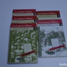 Livros antigos: LA GUERRA MILITAR - GABRIEL CARDONA Y FERNANDO FERNÁNDEZ BASTARRECHE (5 TOMOS). Lote 191232671