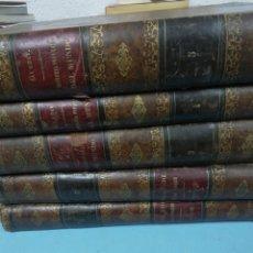 Libros antiguos: KRAVER. HISTORIA POPULAR DEL MUNDO. 5 TOMOS. 1877. Lote 191260546