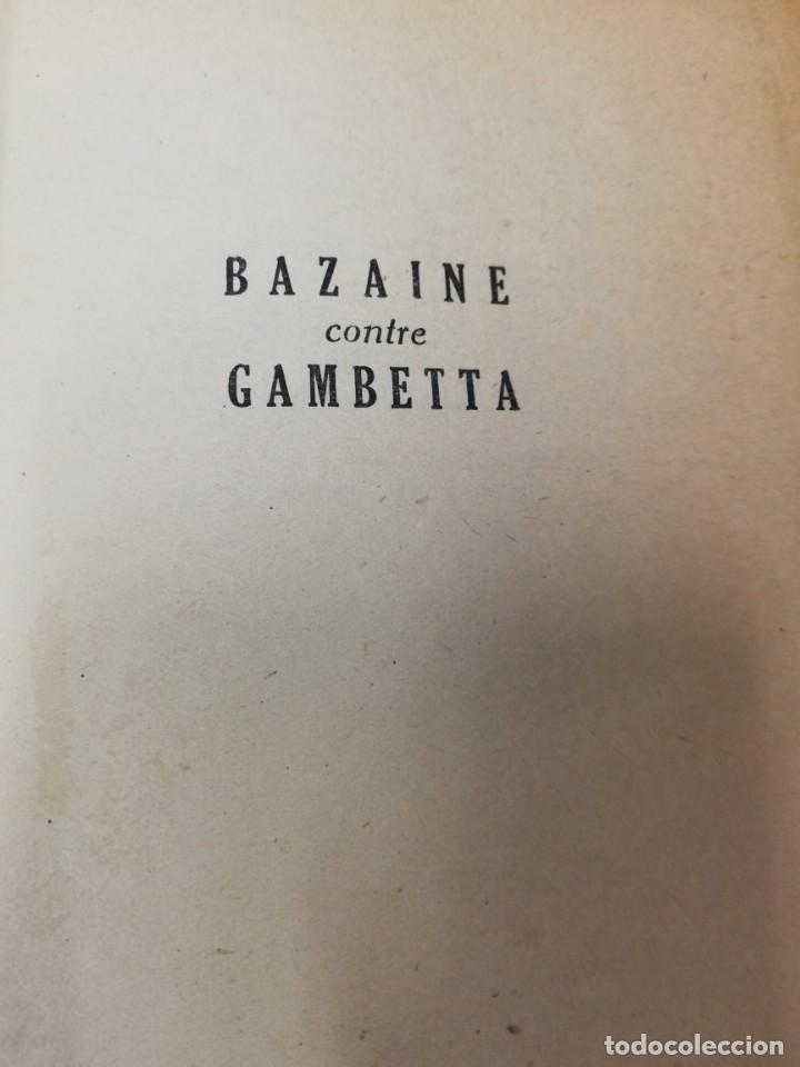 Libros antiguos: 3 libros Francés. Bazaine contra gambetta, Les manuscrittes de la mer morte e Histoire des Etats Uni - Foto 2 - 191268961