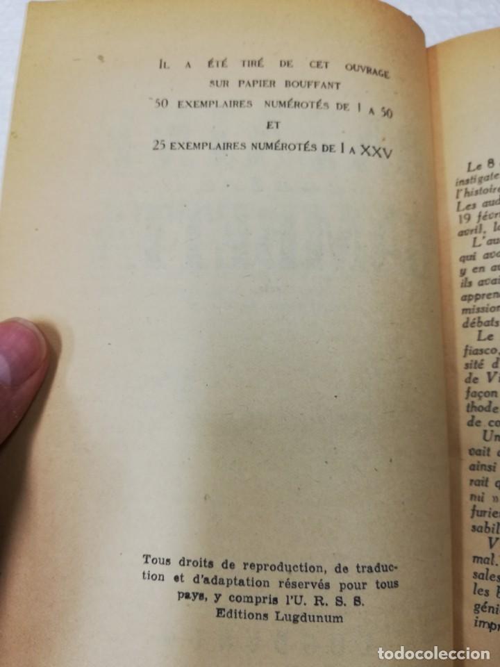 Libros antiguos: 3 libros Francés. Bazaine contra gambetta, Les manuscrittes de la mer morte e Histoire des Etats Uni - Foto 3 - 191268961