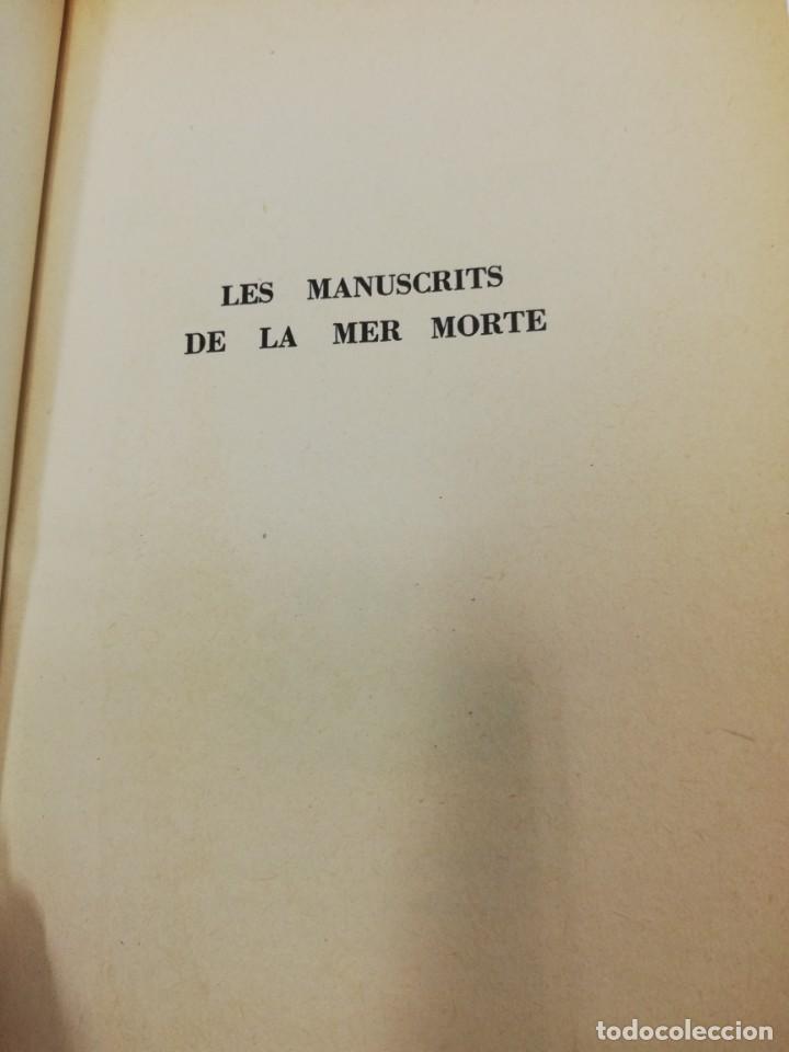 Libros antiguos: 3 libros Francés. Bazaine contra gambetta, Les manuscrittes de la mer morte e Histoire des Etats Uni - Foto 14 - 191268961