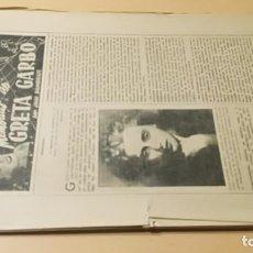 Libros antiguos: MEMORIAS DE GRETA GARBO - JHON BRAIMBRICDE - COLECCIONABLE PERIODICO/ M302. Lote 191275482
