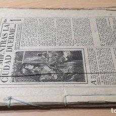 Libros antiguos: MIENTRAS LA CIUDAD DUERME - FRANK YERBY - - COLECCIONABLE PERIODICO/ M302. Lote 191275621