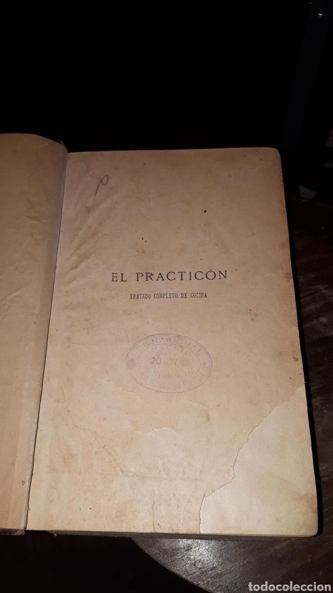 Libros antiguos: EL PRACTICON TRATADO COMPLETO DE COCINA ANGEL MURO 1895 OCTAVA EDICION MIGUEL GUIJARRO - Foto 2 - 191305226