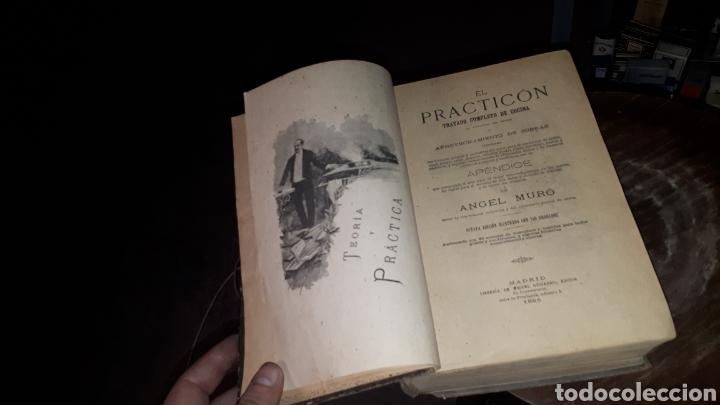 EL PRACTICON TRATADO COMPLETO DE COCINA ANGEL MURO 1895 OCTAVA EDICION MIGUEL GUIJARRO (Libros Antiguos, Raros y Curiosos - Cocina y Gastronomía)