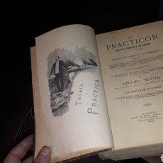 Libros antiguos: EL PRACTICON TRATADO COMPLETO DE COCINA ANGEL MURO 1895 OCTAVA EDICION MIGUEL GUIJARRO. Lote 191305226