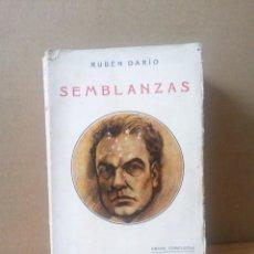 Libros antiguos: ANTIGUO LIBRO DE RUBEN DARIO DE L AÑO 1927. Lote 191357938