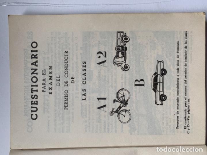 """Libros antiguos: Libro """"El examen de conductor"""" - Foto 3 - 191367537"""
