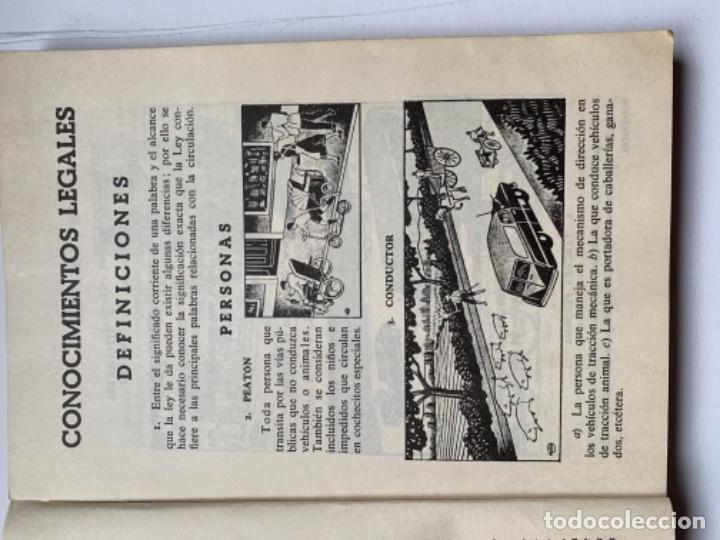 """Libros antiguos: Libro """"El examen de conductor"""" - Foto 4 - 191367537"""