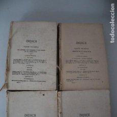 Libros antiguos: 4 LIBROS DE HISTORIA SIN CUBIERTAS VER FOTOD. Lote 191369072