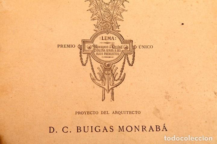 Libros antiguos: GAIETA BUIGAS I MONRABÁ : MONUMENTO A CRISTOBAL COLÓN - PRIMERA EDICIÓN - 1882 - Foto 7 - 191398056