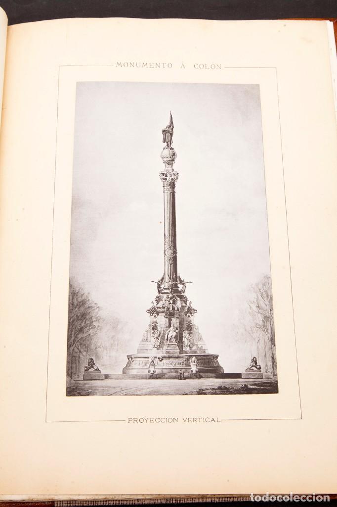 Libros antiguos: GAIETA BUIGAS I MONRABÁ : MONUMENTO A CRISTOBAL COLÓN - PRIMERA EDICIÓN - 1882 - Foto 8 - 191398056