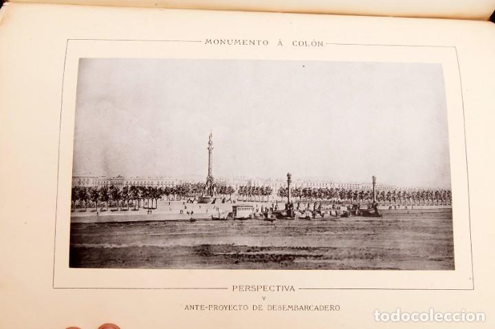 Libros antiguos: GAIETA BUIGAS I MONRABÁ : MONUMENTO A CRISTOBAL COLÓN - PRIMERA EDICIÓN - 1882 - Foto 13 - 191398056