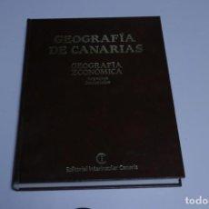 Libros antiguos: GEOGRAFÍA DE CANARIAS - ECONÓMICA Y HUMANA - 2 TOMOS. Lote 191427600