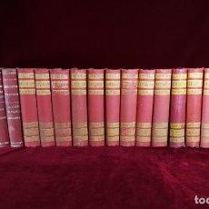 Libros antiguos: COLECCIÓN COMPLETA 46 EPISODIOS NACIONALES BENITO PEREZ GALDÓS PRIMERAS EDICIONES A FALTA DE 5 . Lote 191453983