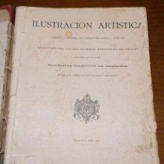 Libros antiguos: ANTIGUO LIBRO PERIÓDICO ILUSTRACIÓN ARTÍSTICA 1884. Lote 191455457
