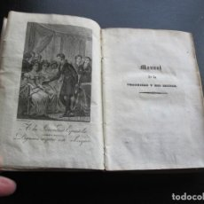 Libros antiguos: MANUAL DE LA URBANIDAD Y DEL DECORO 1838. Lote 191465358