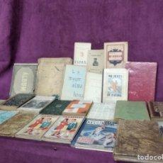 Libros antiguos: GRAN LOTE DE UNOS 25 LIBROS ANTIGUOS, A CLASIFICAR, DESDE 1846. Lote 191469322