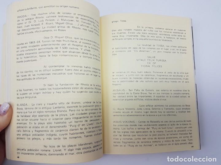 Libros antiguos: RETAILS ( MARUJA ARNAU ) HISTÓRIA DE GIRONA I DE LES TERRES ( ILUSTRAT ) 1979 - Foto 7 - 191475510