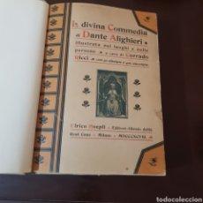 Libros antiguos: DANTE - LA DIVINA COMEDIA 1898 ILUSTRATA C. RICCI - ULRICO HOEPLI MILANO. Lote 191563666