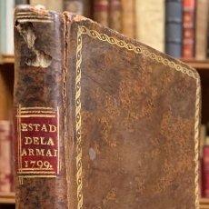 Libros antiguos: ESTADO GENERAL DE LA ARMADA. AÑO DE 1799. Lote 191511436