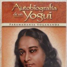 Libros antiguos: AUTOBIOGRAFÍA DE UN YOGUI - PARAMAHANSA YOGANANDA (TAPA DURA) NUEVO. Lote 191621708