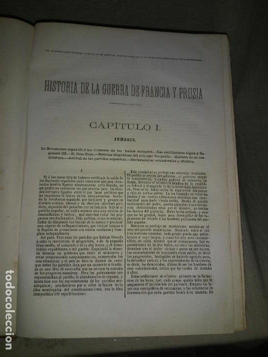Libros antiguos: HISTORIA DE LA GUERRA DE FRANCIA Y PRUSIA EN 1870. - AÑO 1871 - L.CARRERAS.MONUMENTAL OBRA ILUSTRADA - Foto 3 - 191635417