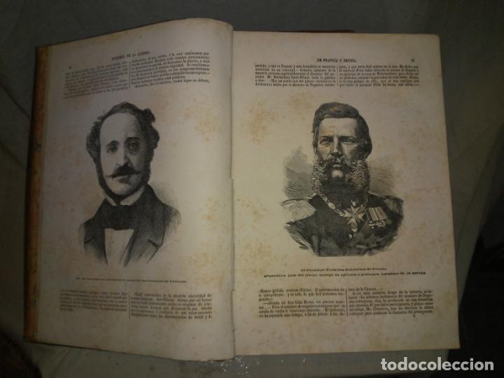 Libros antiguos: HISTORIA DE LA GUERRA DE FRANCIA Y PRUSIA EN 1870. - AÑO 1871 - L.CARRERAS.MONUMENTAL OBRA ILUSTRADA - Foto 4 - 191635417