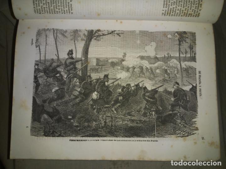 Libros antiguos: HISTORIA DE LA GUERRA DE FRANCIA Y PRUSIA EN 1870. - AÑO 1871 - L.CARRERAS.MONUMENTAL OBRA ILUSTRADA - Foto 9 - 191635417