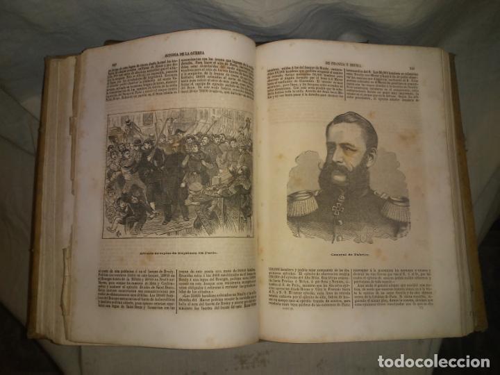 Libros antiguos: HISTORIA DE LA GUERRA DE FRANCIA Y PRUSIA EN 1870. - AÑO 1871 - L.CARRERAS.MONUMENTAL OBRA ILUSTRADA - Foto 10 - 191635417