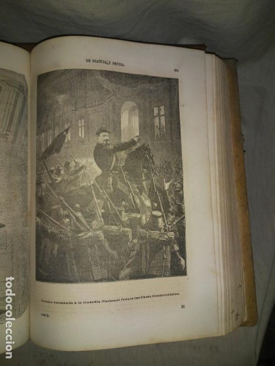 Libros antiguos: HISTORIA DE LA GUERRA DE FRANCIA Y PRUSIA EN 1870. - AÑO 1871 - L.CARRERAS.MONUMENTAL OBRA ILUSTRADA - Foto 11 - 191635417
