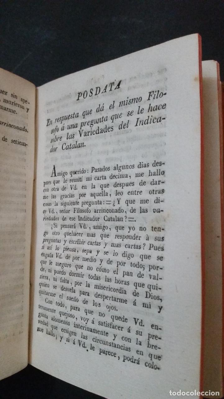 Libros antiguos: 1822 - Tomo Segundo de las Cartas del Filósofo Arrinconado - Foto 4 - 191636532
