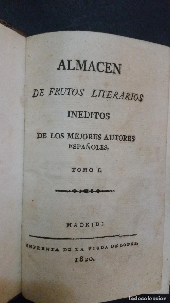 Libros antiguos: 1820 - DE LA GANDARA - Sobre el bien y el mal de España. 2 tomos - ALMACEN DE FRUTOS LITERARIOS - Foto 2 - 191636743