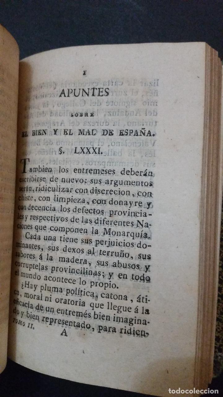 Libros antiguos: 1820 - DE LA GANDARA - Sobre el bien y el mal de España. 2 tomos - ALMACEN DE FRUTOS LITERARIOS - Foto 5 - 191636743