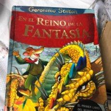 Libros antiguos: EN EL REINO DE LA FANTASÍA GERÓNIMO STILTON. Lote 191690648