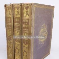 Libros antiguos: [ESTUDIO HISTÓRICO DE LOS ESTADOS UNIDOS. 1858] SPENCER, J. A. HISTORY OF THE UNITED STATES. . Lote 191767632
