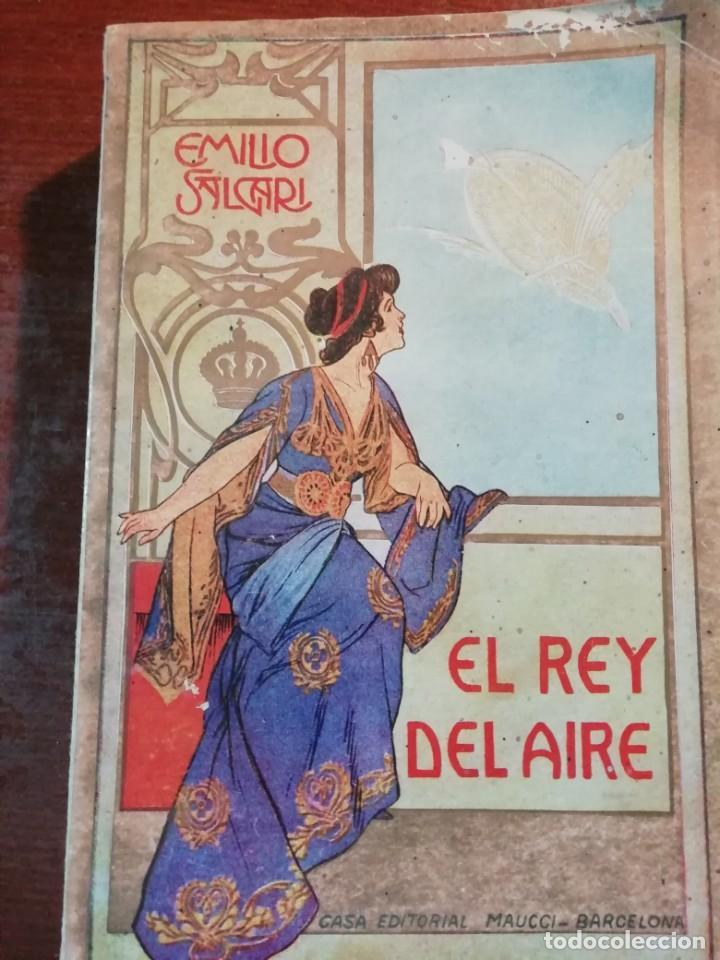EL REY DEL AIRE DE EMILIO SALGARI AÑO 1911 (Libros antiguos (hasta 1936), raros y curiosos - Literatura - Narrativa - Otros)