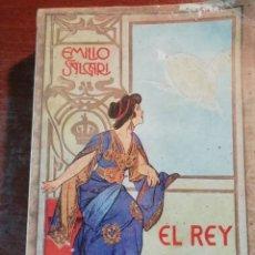 Libros antiguos: EL REY DEL AIRE DE EMILIO SALGARI AÑO 1911. Lote 191811810