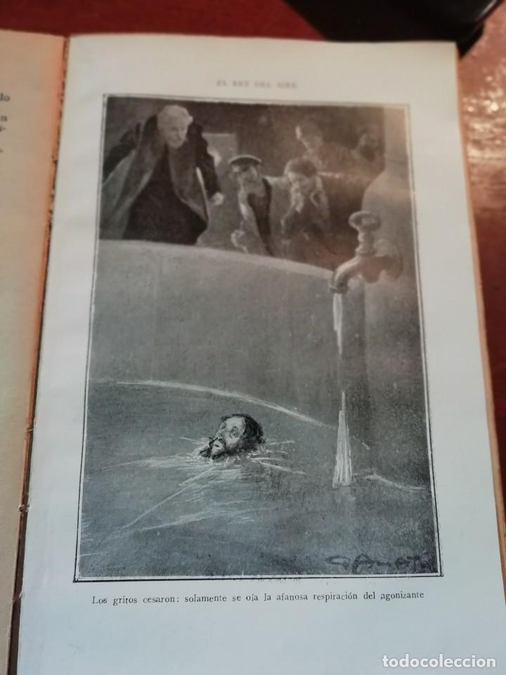 Libros antiguos: EL REY DEL AIRE DE EMILIO SALGARI AÑO 1911 - Foto 3 - 191811810
