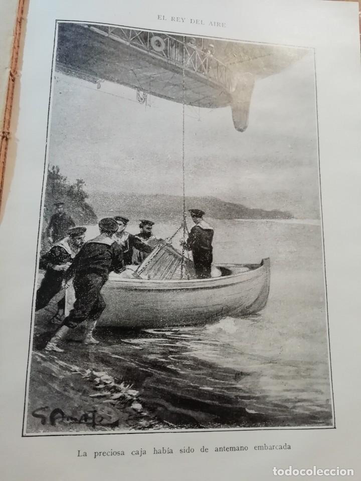 Libros antiguos: EL REY DEL AIRE DE EMILIO SALGARI AÑO 1911 - Foto 5 - 191811810