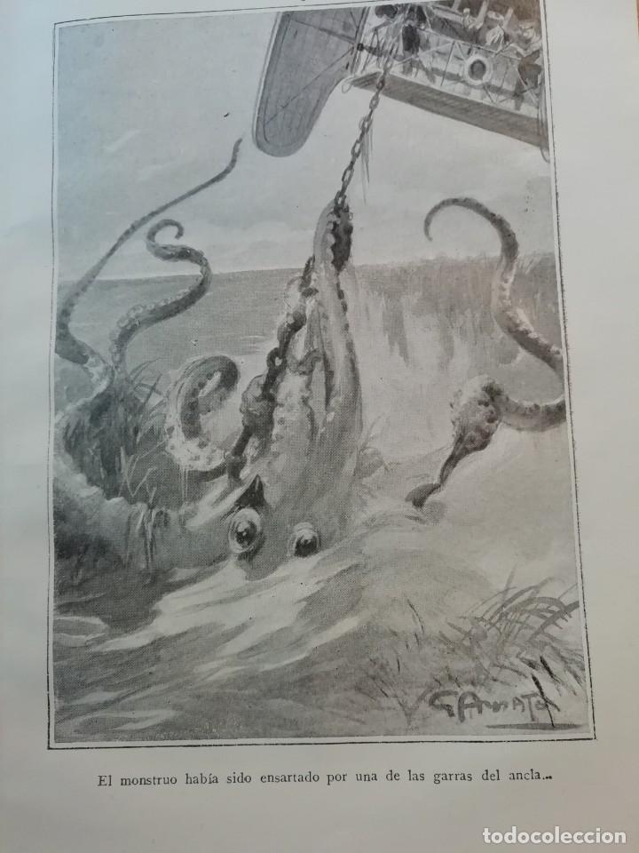 Libros antiguos: EL REY DEL AIRE DE EMILIO SALGARI AÑO 1911 - Foto 6 - 191811810