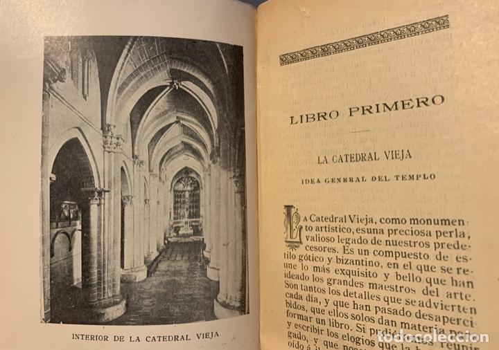 Libros antiguos: Juan Antonio Vicente Bajo. Recuerdo de Salamanca. eligió y Arte. Guia descriptiva de los .... - Foto 2 - 191776815