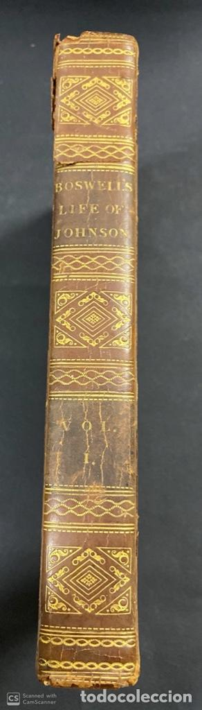 Libros antiguos: THE LIFE OF SAMUEL JOHNSON. BY JAMES BOSWELL. VOL. I. LONDON, 1823. PAGS: 416 - Foto 3 - 191870518